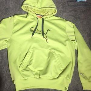 Bright Green Puma Hoodie